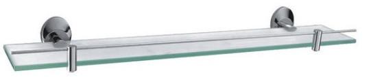 Полка стеклянная 60 см Fixsen Kvadro FX-21803