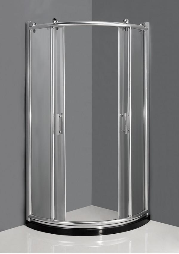 купить Душевой уголок 92×92×200 см прозрачное стекло Ammari Luxe AM-B-3-92 дешево