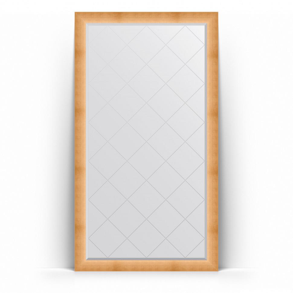 Фото - Зеркало напольное 111х201 см травленое золото Evoform Exclusive-G Floor BY 6356 зеркало напольное 111х201 см чеканка золотая evoform definite floor by 6020