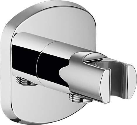 Подключение для душевого шланга с держателем Cezares GLOBO-AI14-01 подключение для шланга cezares czr ai6 01