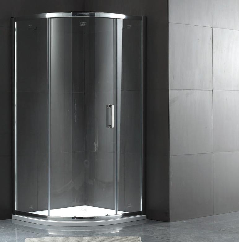 Душевой уголок 100х100 см Gemy Victoria S30081A прозрачное