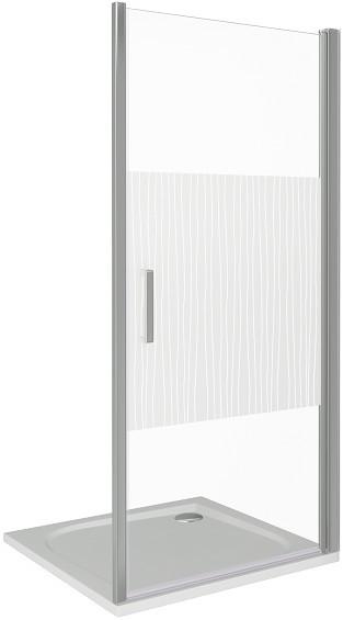 Душевая дверь 100 см Good Door Pandora DR-100-T-CH прозрачный с рисунком