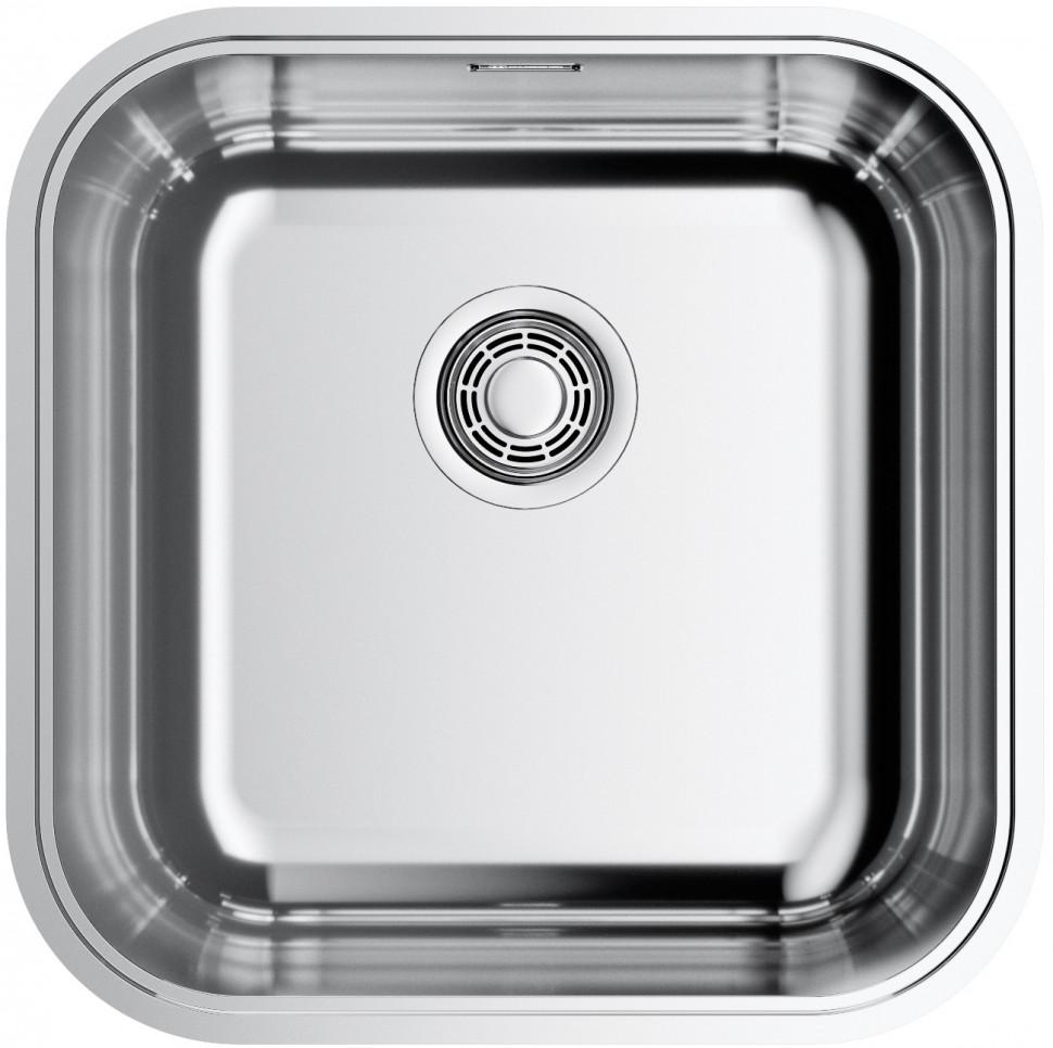 цена на Кухонная мойка нержавеющая сталь Omoikiri Omi 44-U/IF-IN Quadro