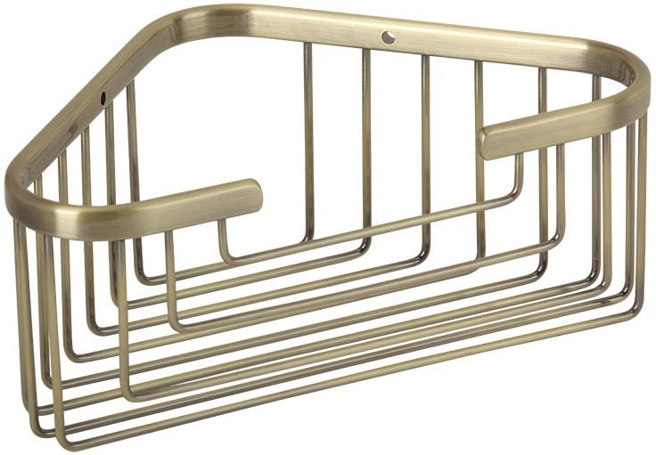 Полка угловая 18х18 см Veragio Baskets Bronzo VR.GFT-9043.BR linvel 9043 5