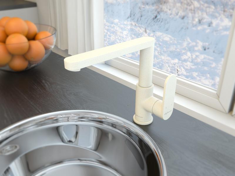 Смеситель для кухни Elghansa Kitchen Color 5601102-Jasmine смеситель для кухни elghansa platea color 5601102 champagne
