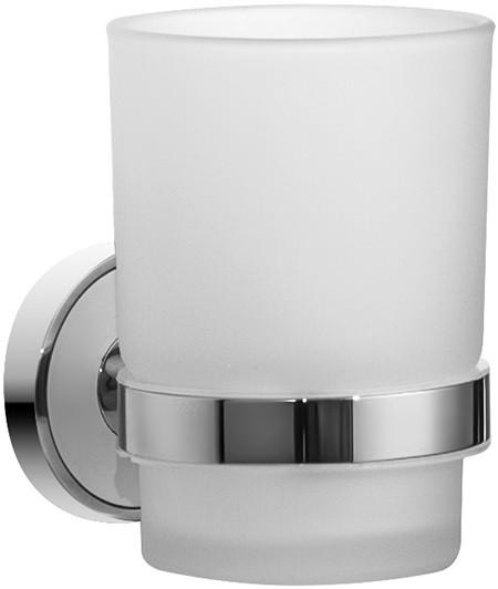 Стакан хром/белый IDDIS Calipso CALMBG1I45
