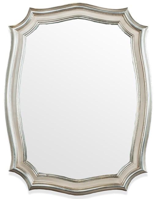 Зеркало 64х84 см серебро/слоновая кость Tiffany World TW02117arg/avorio цена 2017