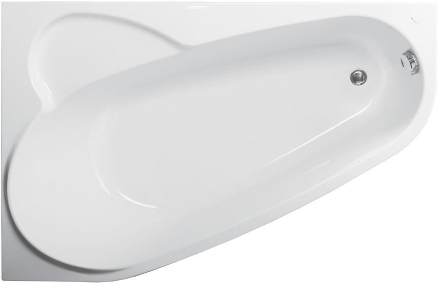 Акриловая ванна 160х105 см L Vagnerplast Selena VPBA163SEL3LX-04 акриловая ванна 160х105 см l vagnerplast selena vpba163sel3lx 04