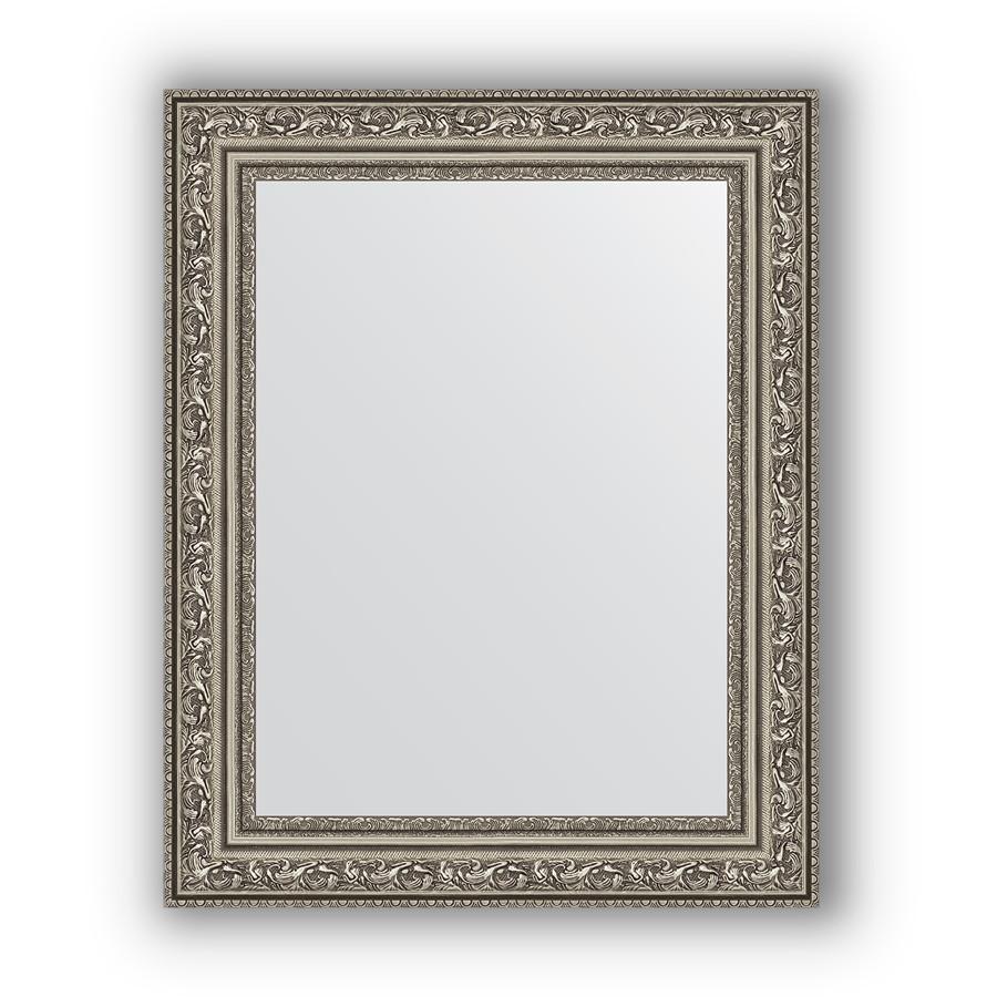 Фото - Зеркало 40х50 см виньетка состаренное серебро Evoform Definite BY 3008 зеркало 64х114 см виньетка состаренное серебро evoform definite by 3200