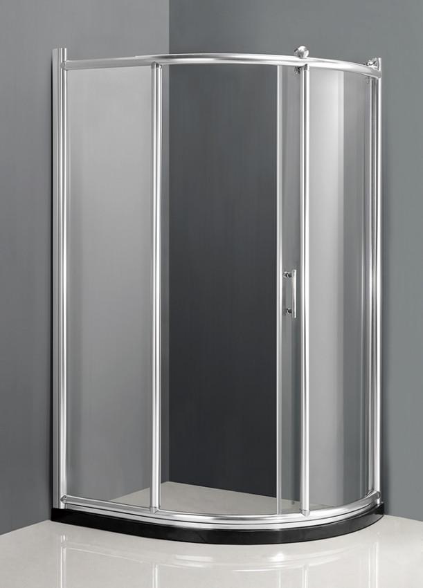Душевой уголок 120×90×200 см прозрачное стекло Ammari Luxe AM-B-4L левая цена