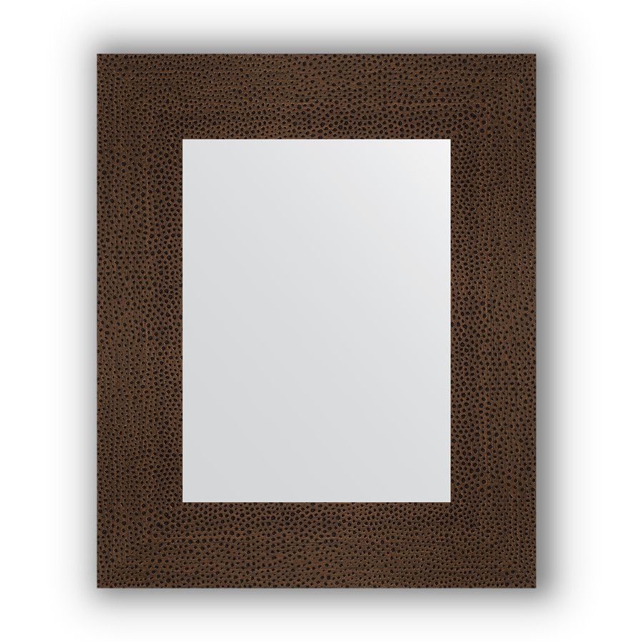 Фото - Зеркало 46х56 см бронзовая лава Evoform Definite BY 3024 зеркало evoform definite floor 201х81 бронзовая лава