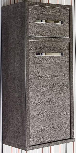 Полупенал подвесной венге серебряная патина L Sanflor Румба H0000000266 фото