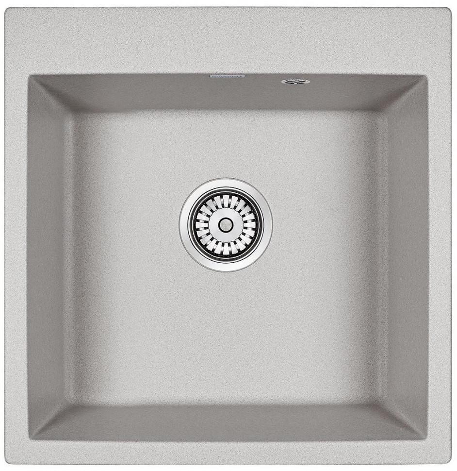 Кухонная мойка Paulmark Praktisch серый PM105152-GR