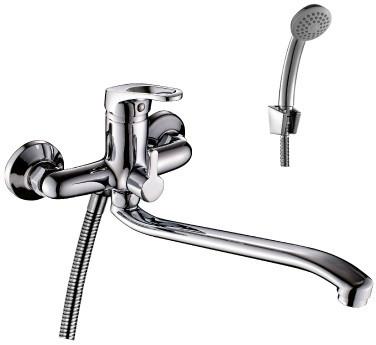 Смеситель для ванны Rossinka B B35-34 смеситель для ванны rossinka silvermix b35 31