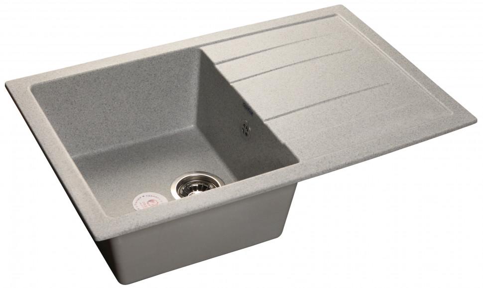 купить Кухонная мойка серый GranFest Quadro GF-Q780L дешево