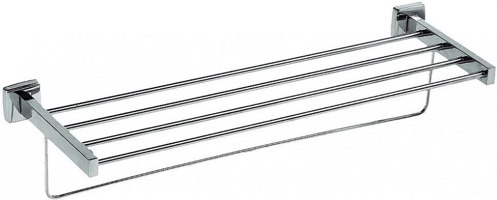 Полка для полотенец 60 см хром Nofer Classic 09036.B полка стеклянная 50 см хром nofer line 16515 b