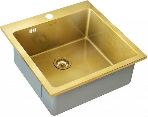 Кухонная мойка Zorg Inox PVD SZR-51 BRONZE цена и фото