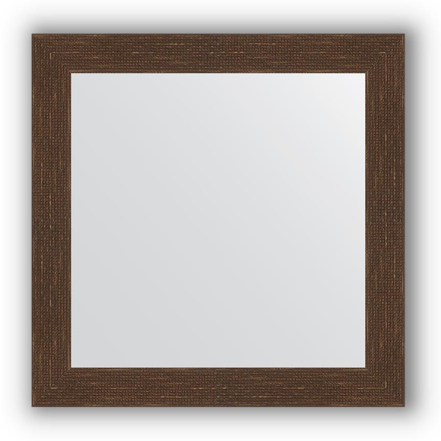 Зеркало 66х66 см мозаика античная медь Evoform Definite BY 3145 зеркало evoform definite 146х56 мозаика античная медь