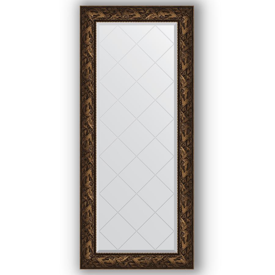 Зеркало 69х158 см византия бронза Evoform Exclusive-G BY 4158