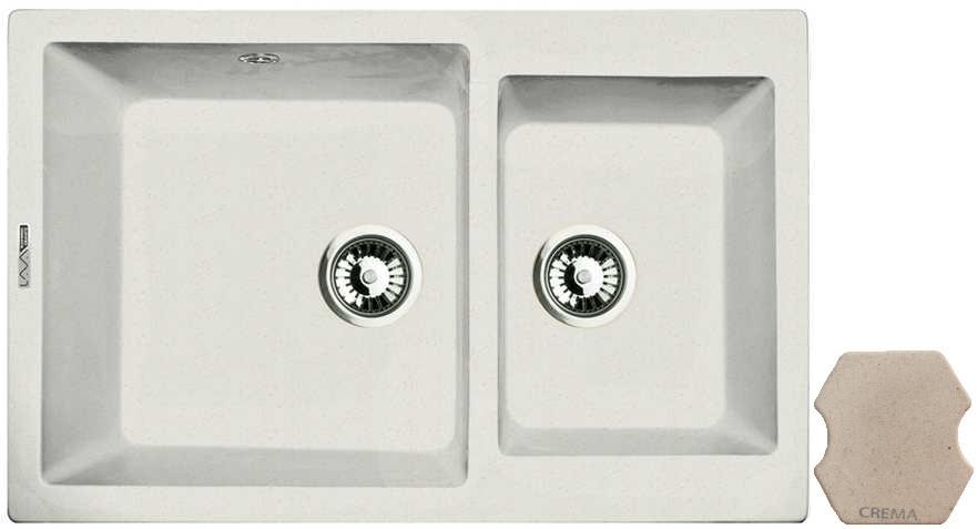 Кухонная мойка CREMA Lava D3.CRE недорго, оригинальная цена