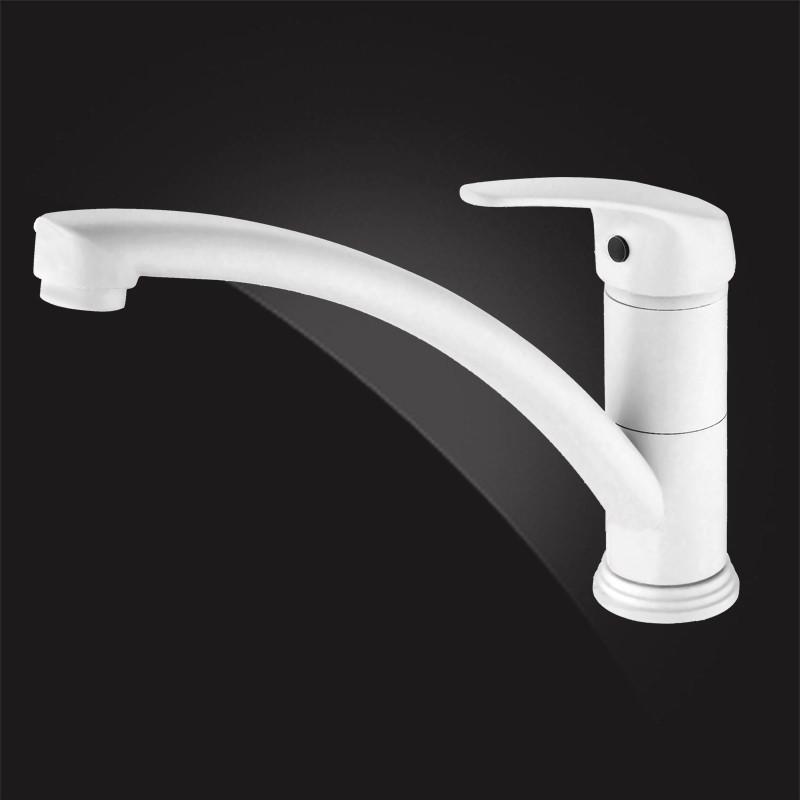 Смеситель для кухни Elghansa Kitchen Color 5600377-White kitchen pastry tools diy white plastic dumpling mold maker