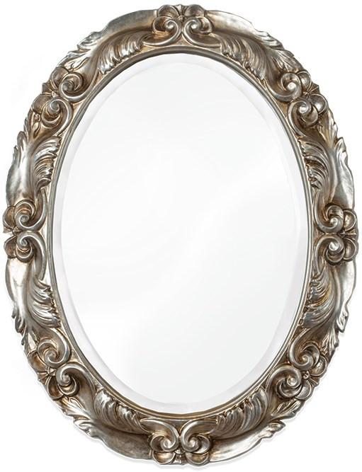 Зеркало 67х87 см состаренное серебро Tiffany World TW03170arg.antico цена 2017