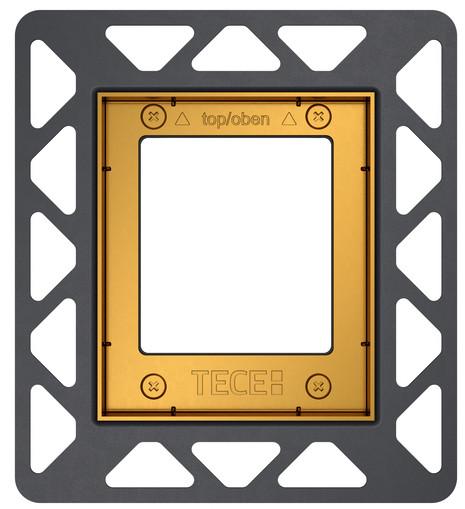 Монтажная рамка золотой Tece 9242648 монтажная рамка tece square 9240648
