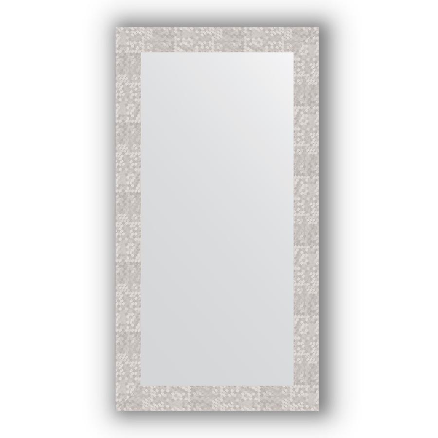 Зеркало 56х106 см соты алюминий Evoform Definite BY 3083 зеркало evoform definite floor 197х108 соты алюминий