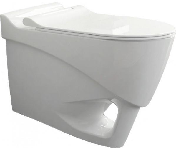 Фото - Подвесной безободковый унитаз с сиденьем микролифт Bien Organic OGKA052N1VP0W3000 подвесной безободковый унитаз с сиденьем микролифт bien moly mlka052n1vp0w3000