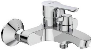 смеситель для ванны vidima seva light b8954aa Смеситель для ванны Vidima Wave BA416AA