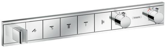 Термостат для 5 потребителей Hansgrohe RainSelect 15358000 фото