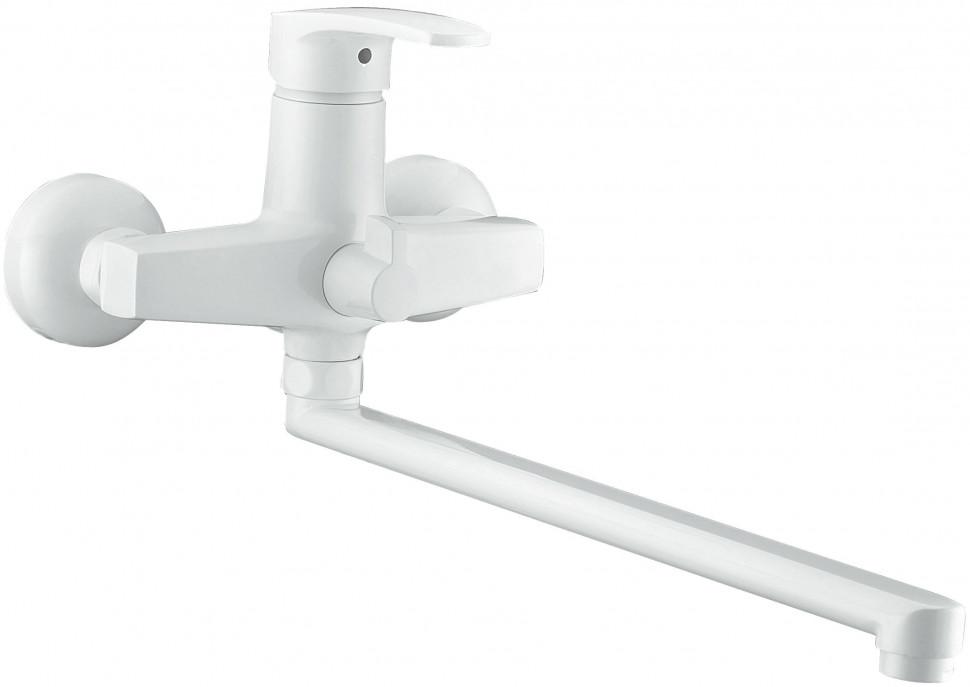 Смеситель для ванны Elghansa Monica White 5322319-White смеситель для душа elghansa monica white встраиваемый с механизмом белый 34k1119 white