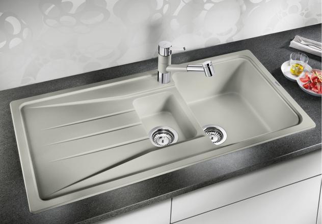 Кухонная мойка Blanco Sona 6S Жемчужный 520483 кухонная мойка blanco sona 6s жемчужная