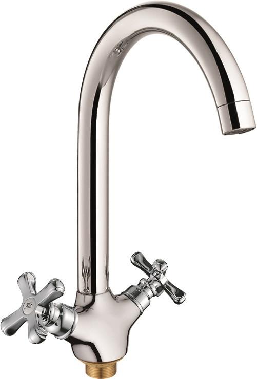 Фото - Смеситель для кухни Rush Bianki BI7650-24 смеситель для ванны rush bianki хром bi7650 51
