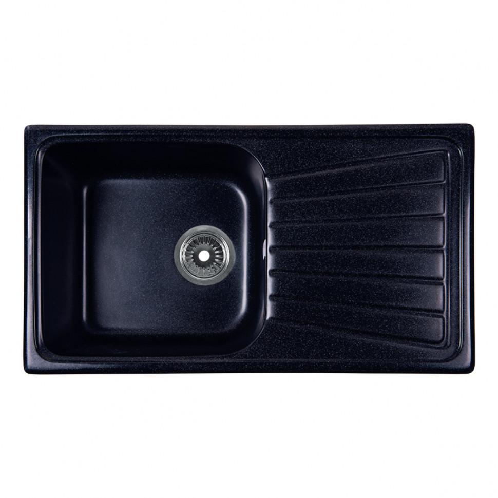 Кухонная мойка черный Rossinka RS81-46SW-Black кухонная мойка rossinka rs56 46sw черная