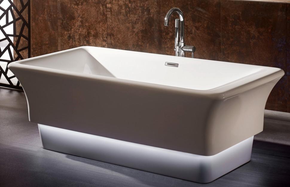 Акриловая ванна 170х85 см Gemy G9221 акриловая ванна gemy g9245