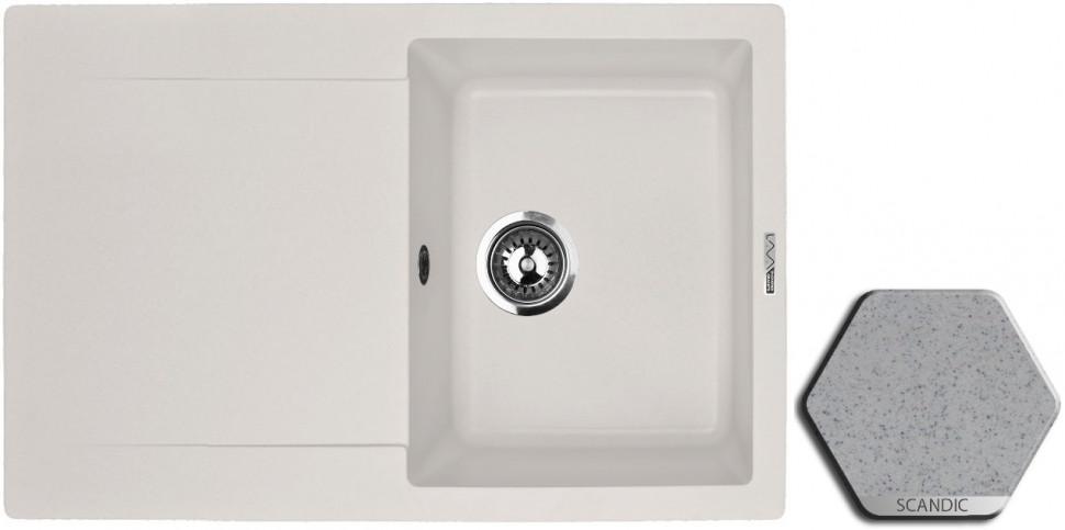 Кухонная мойка SCANDIC Lava L4.SCA цены