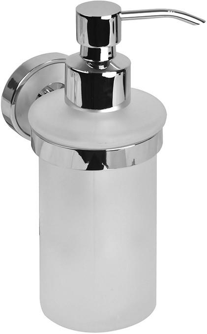 Дозатор жидкого мыла хром/белый IDDIS Calipso CALMBG0I46 дозатор для жидкого мыла iddis calipso calmbg0i46