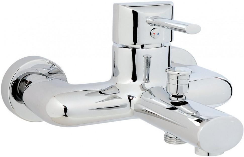 Смеситель для ванны GPD Fonte MBB15 смеситель для ванны gpd koch bnb13 хром