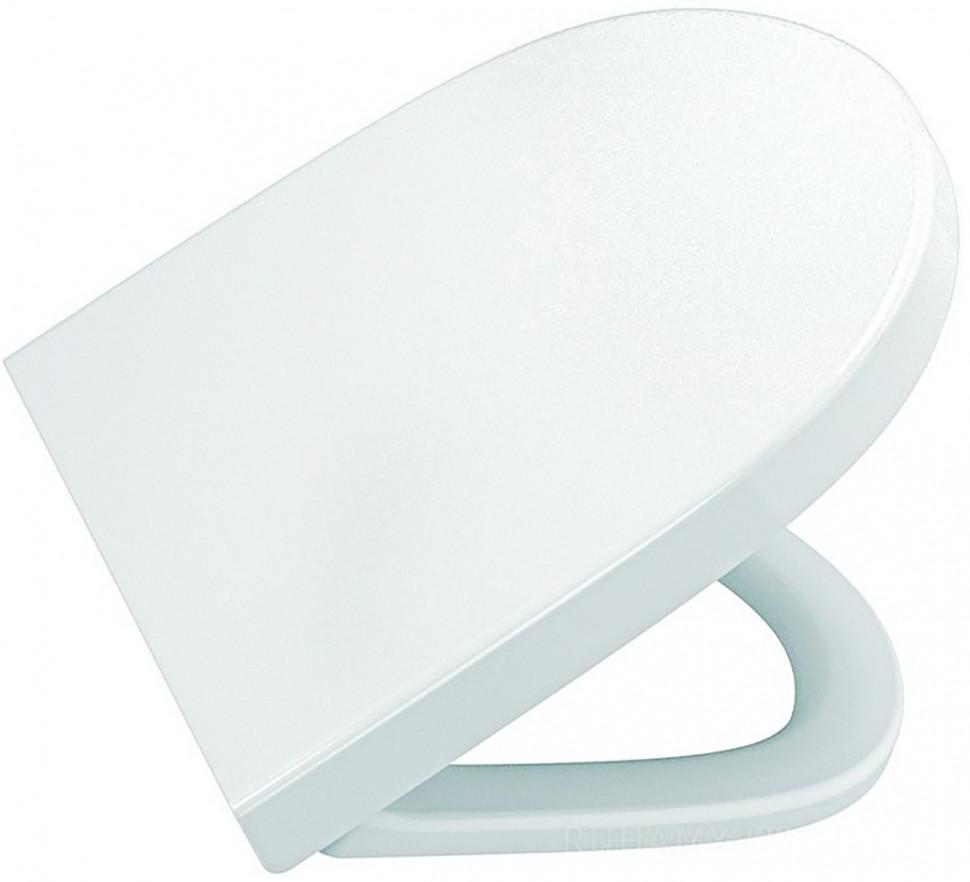 Фото - Сиденье для унитаза с микролифтом Vitra Sento 86-003-009 сиденье vitra zentrum сиденье для унитаза микролифт 94 003 009