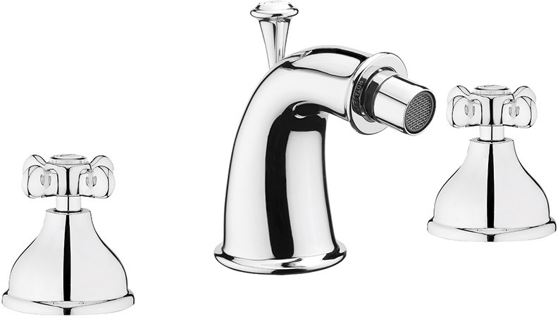 Фото - Смеситель для биде с донным клапаном Webert Ottocento OT710202015 смеситель для ванны webert ottocento ot720801 хром белый