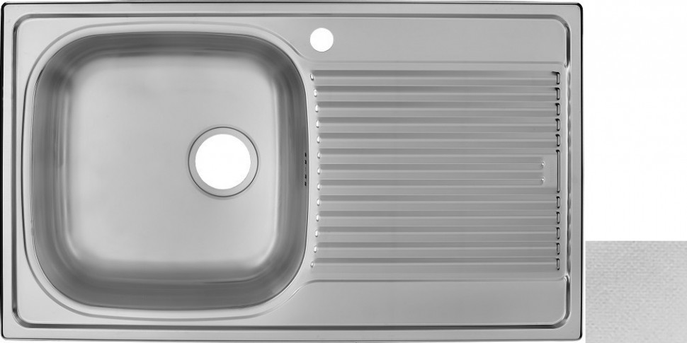 Кухонная мойка декоративная сталь Ukinox Гранд GRL860.500 -GT8K 2L ukinox fal510 gt8k 0c