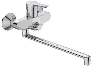 смеситель для ванны vidima seva light b8954aa Смеситель для ванны Vidima Wave BA417AA
