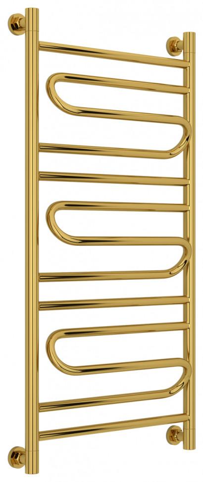 Полотенцесушитель водяной 1000х500 золотой Сунержа Элегия+ 03-0205-1050