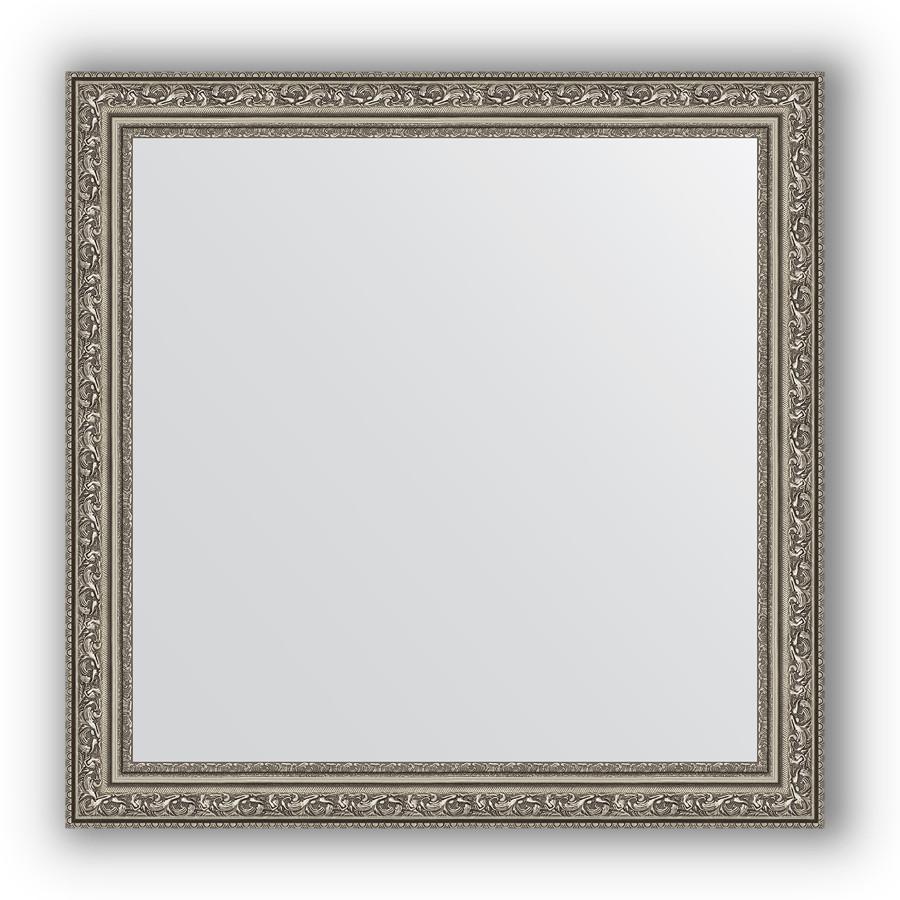 Фото - Зеркало 64х64 см виньетка состаренное серебро Evoform Definite BY 3136 зеркало 64х114 см виньетка состаренное серебро evoform definite by 3200
