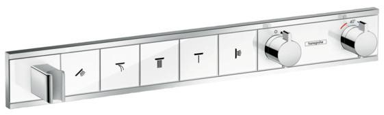 Термостат для 5 потребителей Hansgrohe RainSelect 15358400