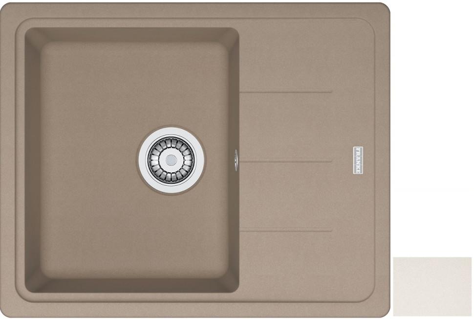 Кухонная мойка Franke Basis BFG 611C ваниль 114.0296.631 franke 750 ваниль