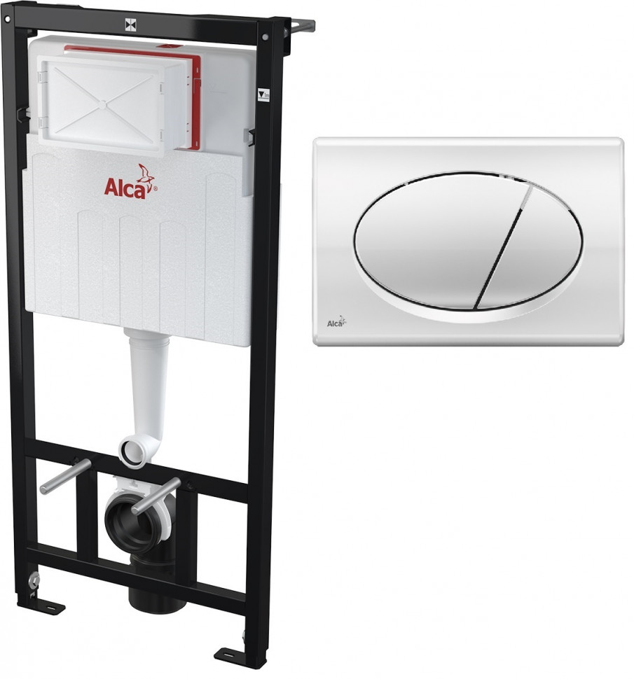 Купить со скидкой Скрытая система инсталляции для сухой установки (для гипсокартона) , клавиша M71 AlcaPlast Sadromodu