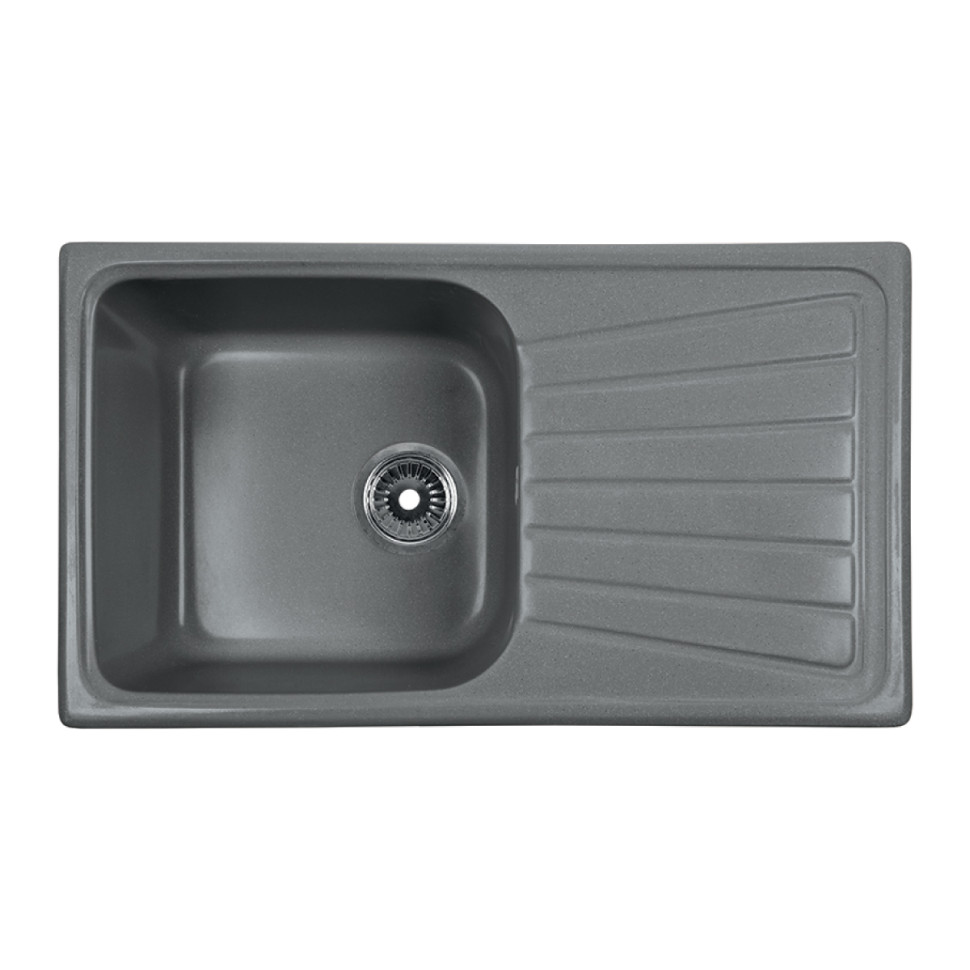 Кухонная мойка серый Rossinka RS81-46SW-Gray-Quartz кухонная мойка rossinka rs56 46sw черная