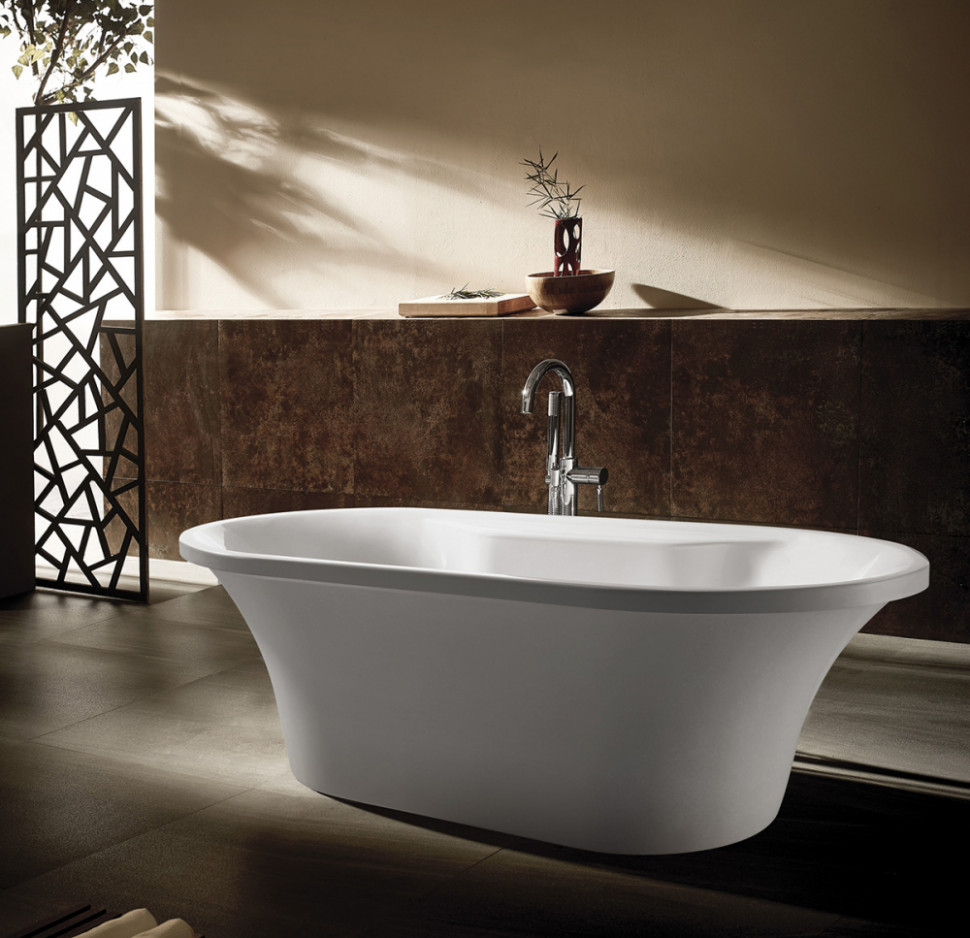 Акриловая ванна 169х80 см Gemy G9228 акриловая ванна gemy g9245
